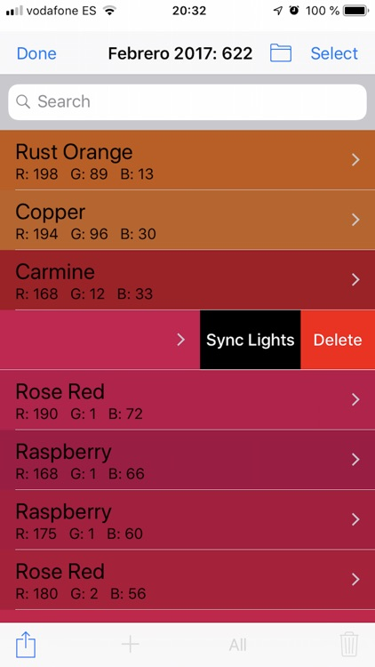 Scan the color of any object