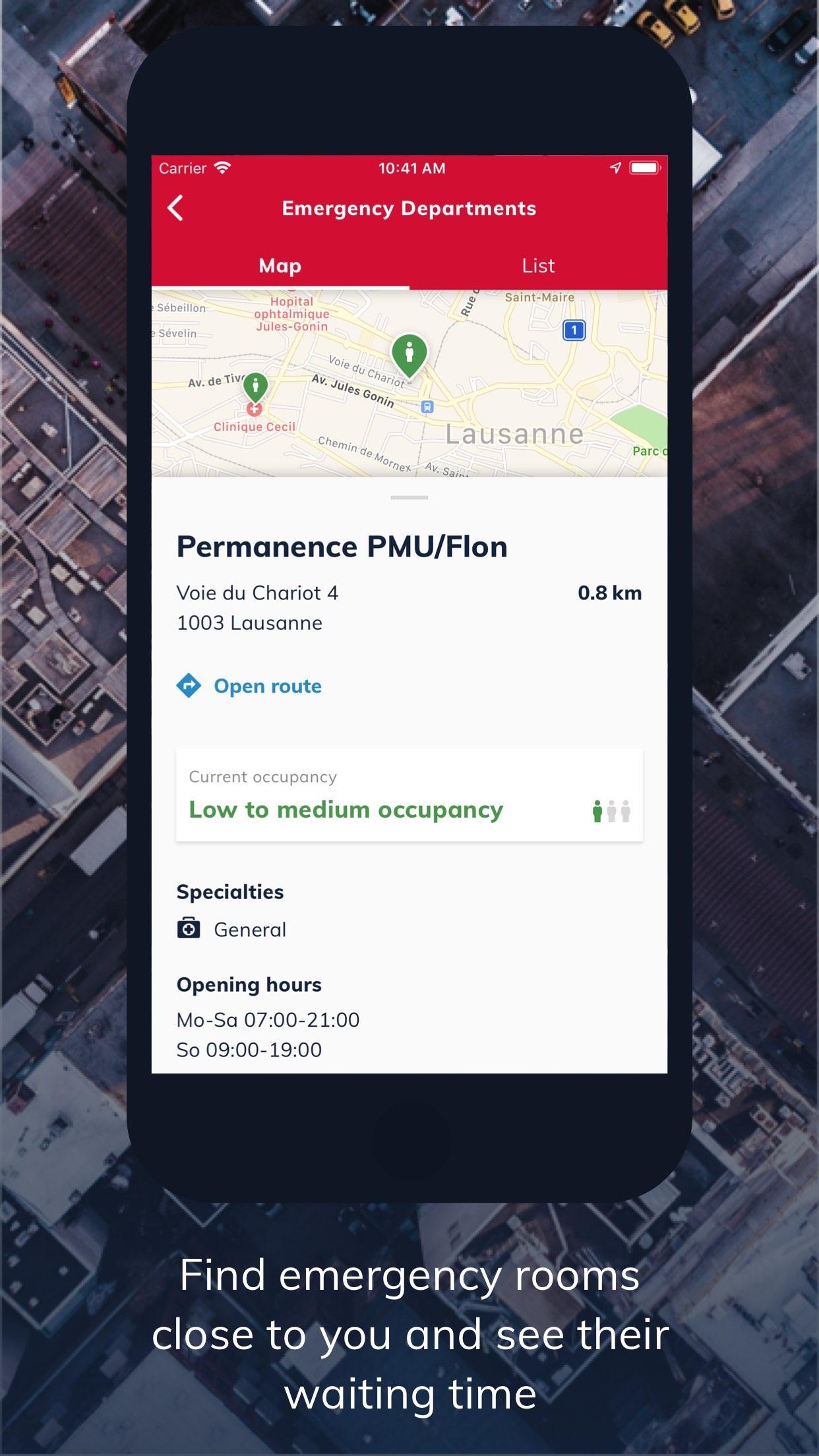 EchoSOS – the new Echo112 Screenshot