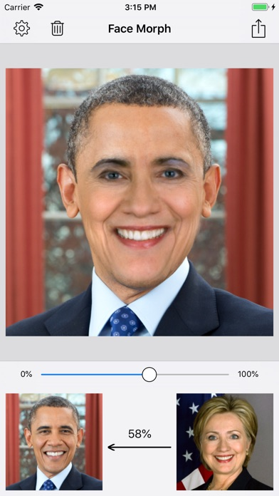 Screenshot for Face Morph - Morph 2 Faces in United States App Store