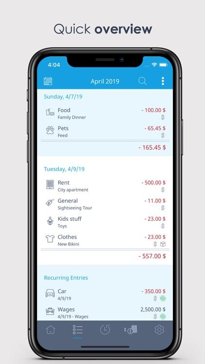 MoneyControl Spending Tracker
