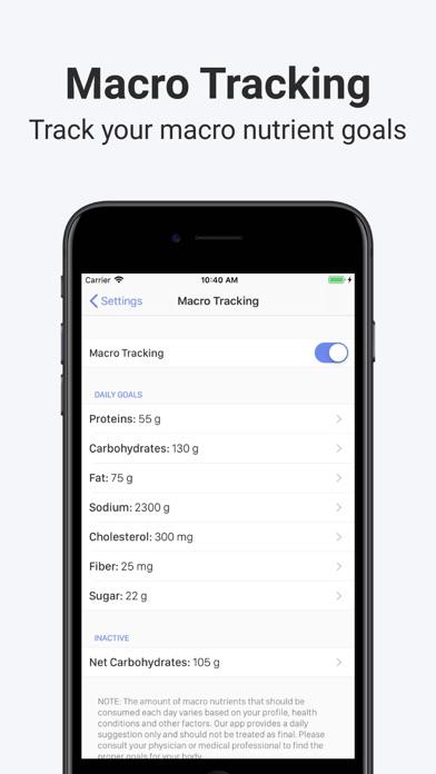 Calory: Simple Calorie Counter screenshot 4