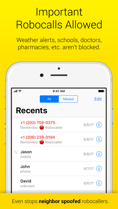 Nomorobo Robocall Blocking - Revenue & Download estimates