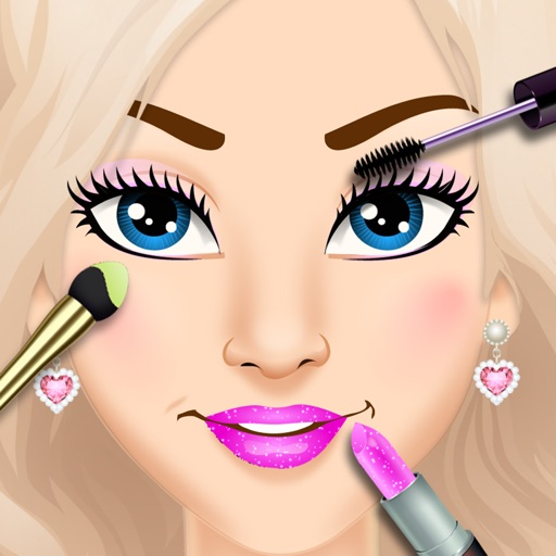 Back To School Makeup Games Icon
