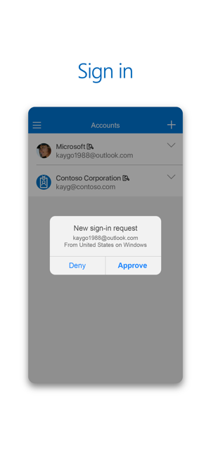 ‎Microsoft Authenticator Screenshot