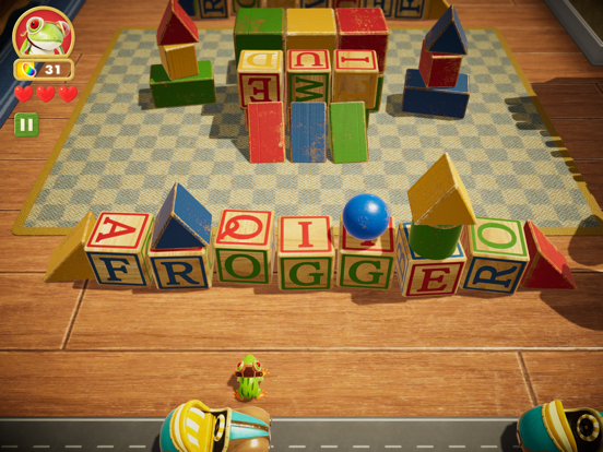 Frogger in Toy Town screenshot 9