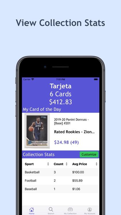 Tarjeta - Sports Card App screenshot-4