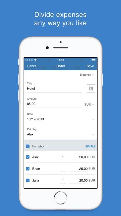 Tricount - Split group bills screenshot-3