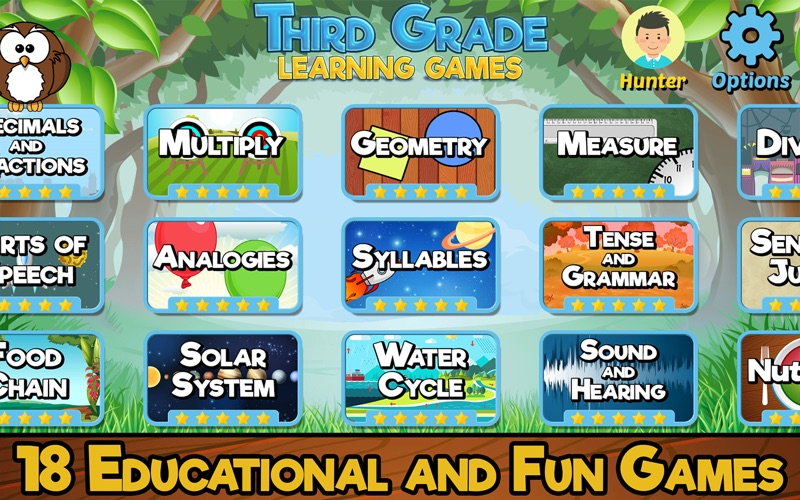 Third Grade Learning Games screenshot 1