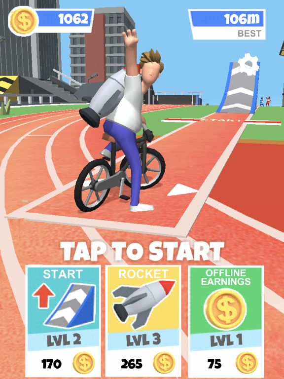 Bike Hop: Crazy BMX Jump 3Dのおすすめ画像1