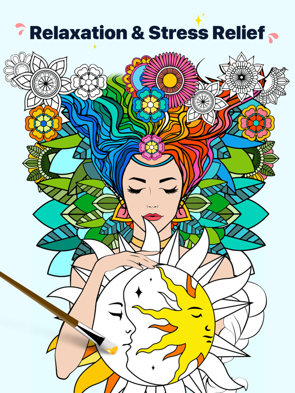 Star Coloring Pages by Number screenshot 5
