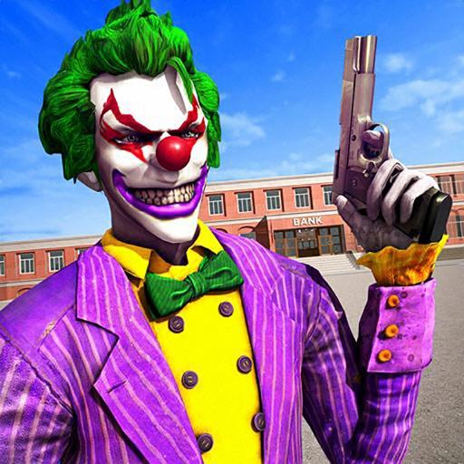 Killer Clown Bank Cash Robbery iOS App