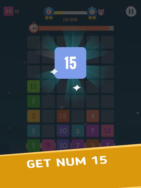 Number Blocks - Merge Puzzle screenshot 10