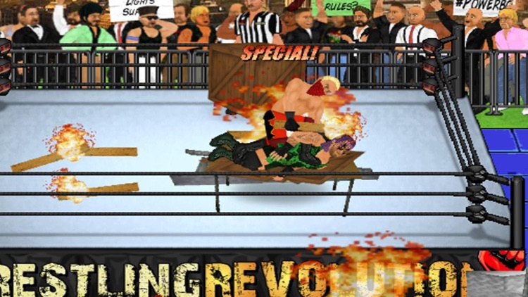 Wrestling Revolution Pro screenshot-2
