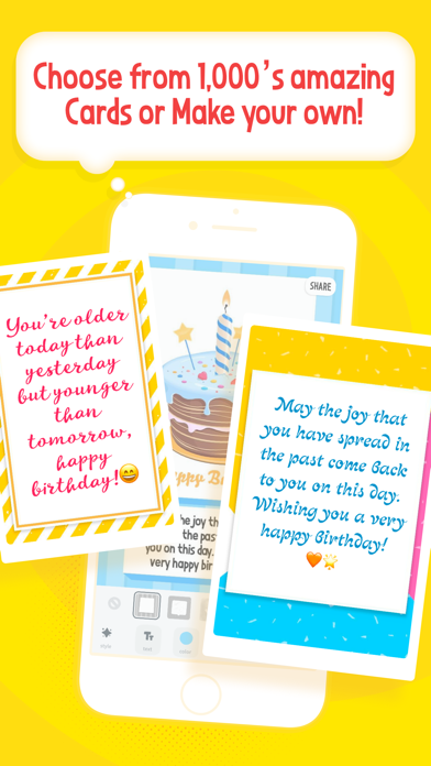 Greetify! Make greeting cards Screenshot
