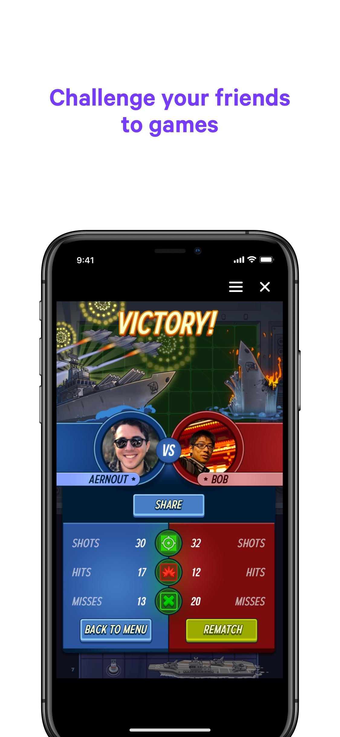 Screenshot do app Messenger