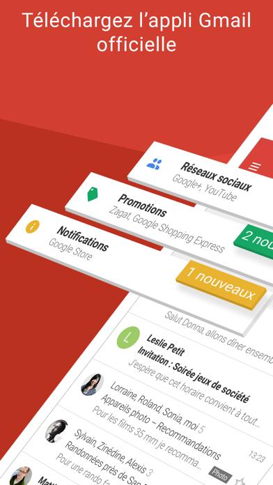 Screenshot #1 pour Gmail – l'e-mail Google