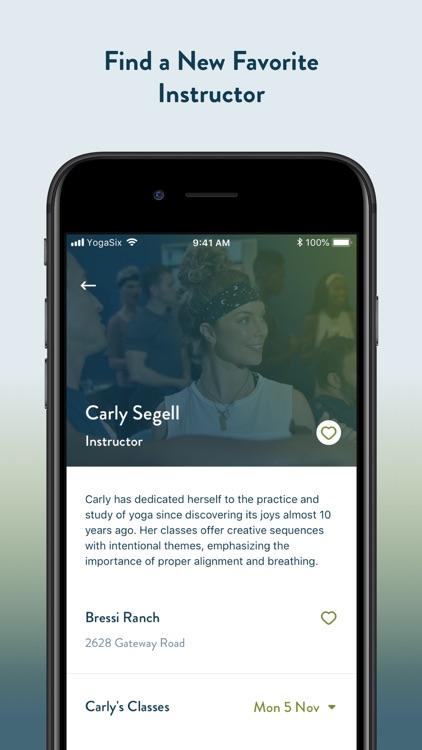 YogaSix screenshot-5