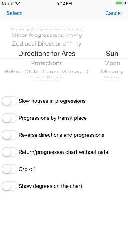 Astrological Charts Pro screenshot-5