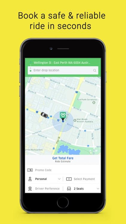 Zoom - Car Booking App