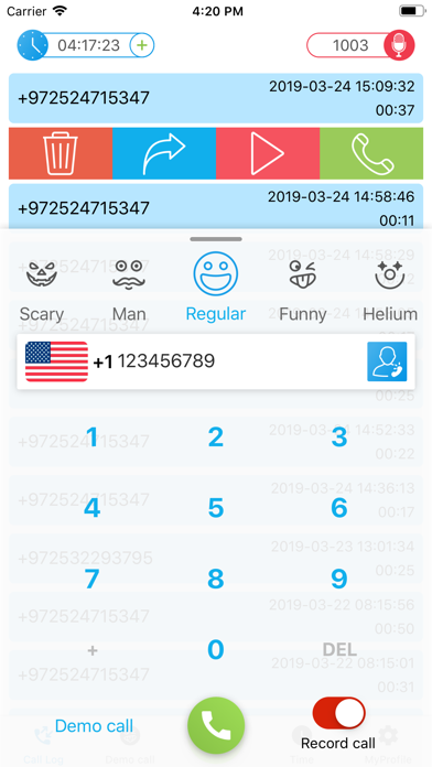 Top 10 Apps like Call Voice Changer - IntCall in 2019 for