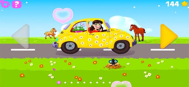 Xe rửa cho trẻ em trò chơi