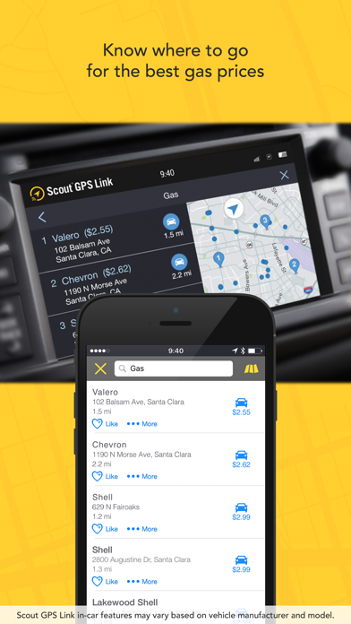 Scout GPS Link Screenshot