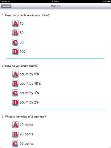 Third Grade Skills Math - náhled