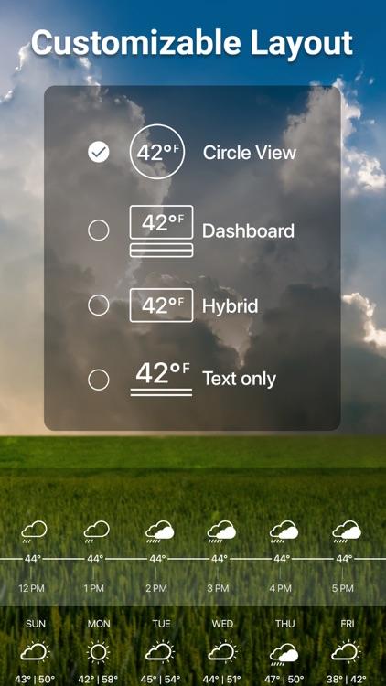 Weather Live° screenshot-7