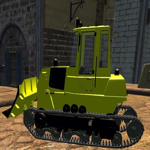 Big Construction Bulldozer Driving 3D - Heavy Vehicle Driver Simulator Game