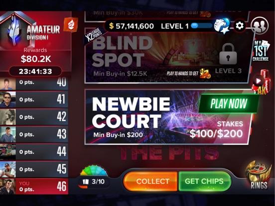 Poker Friends – Legendary Texas Holdem Tournament with VIP - Play, Bet Chips, Bluff, & Win! screenshot