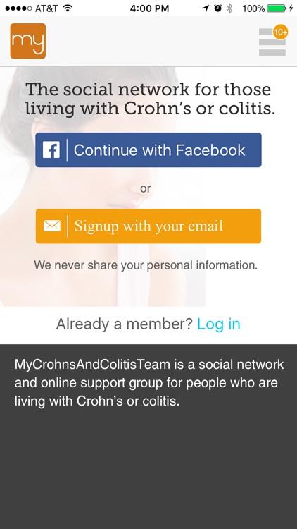 Crohn's and Colitis Support screenshot-3