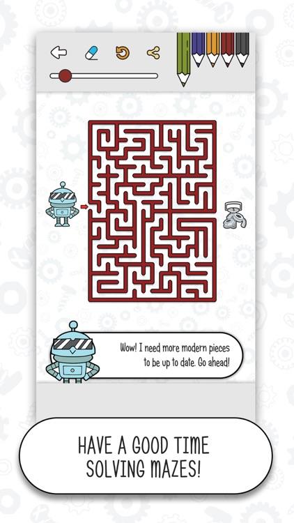 Classic Mazes - Puzzle Games screenshot-4