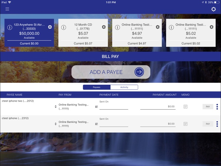 Bank of Akron Personal foriPad screenshot-4