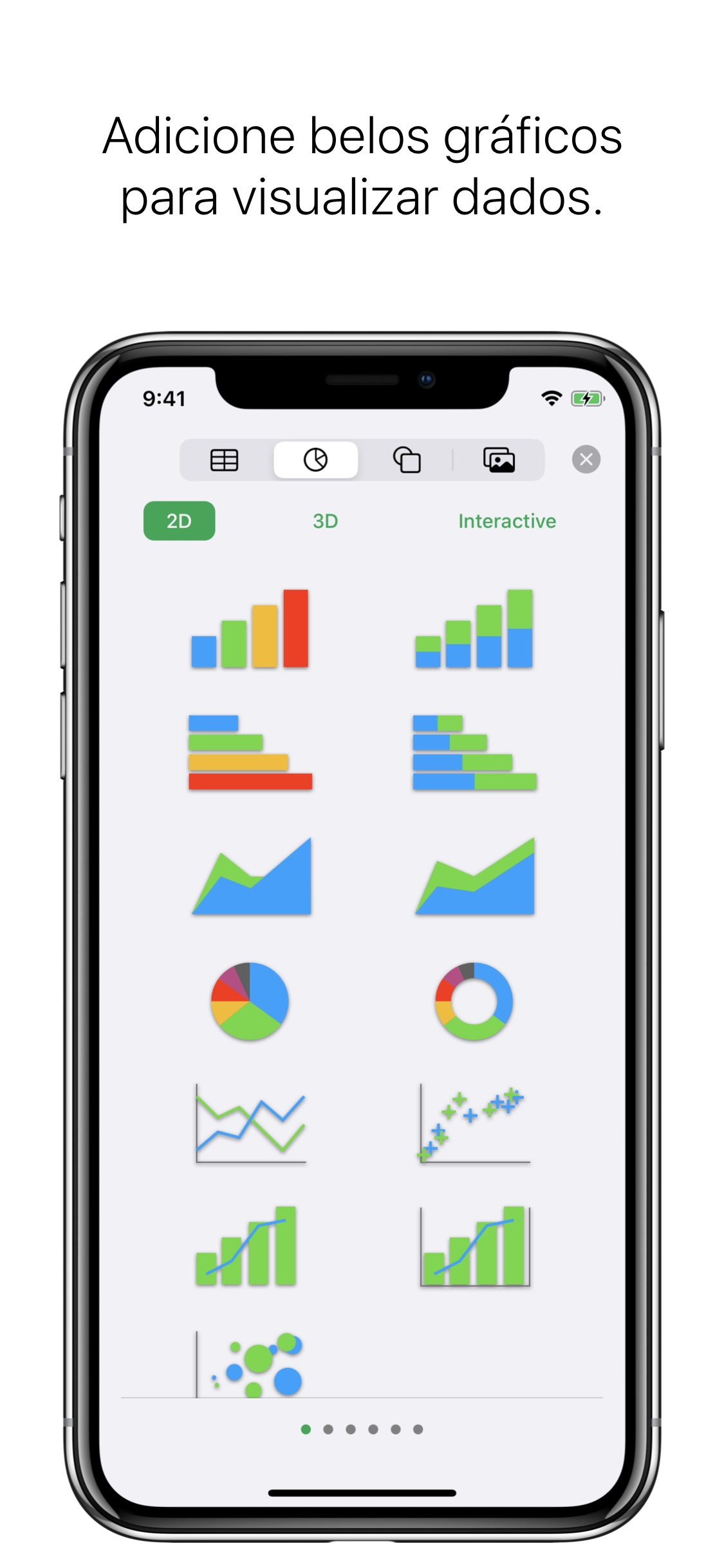 Screenshot do app Numbers