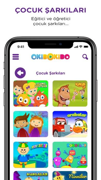 OkiDoKido: Çocuk Çizgi Film TV screenshot two