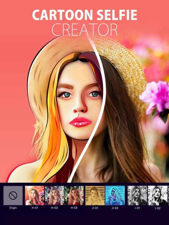 iPad Image of Selfie Tune - Photo Editor