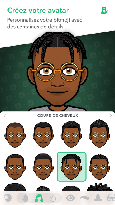 Screenshot for Bitmoji in France App Store