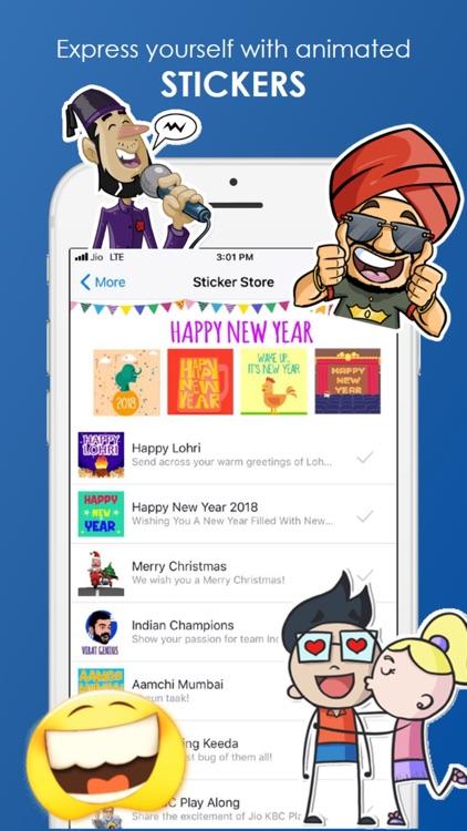JioChat Video Messenger screenshot-6