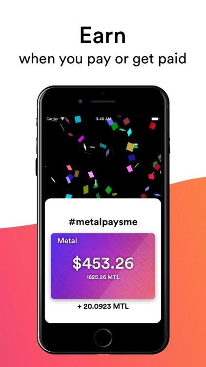 Metal Pay: Make money better screenshot-3