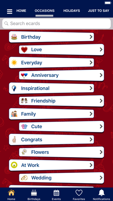 Screenshot #3 pour Greeting Cards & Wishes