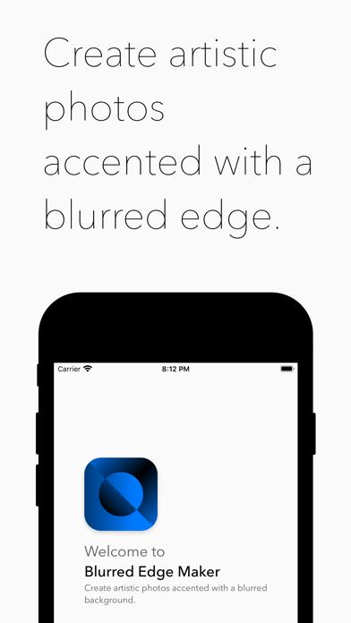 Blurred Edge Maker screenshot 1