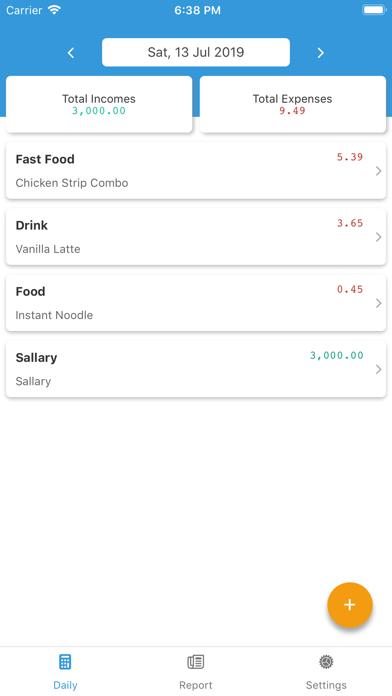 SepranPro: Expense Manager screenshot #2