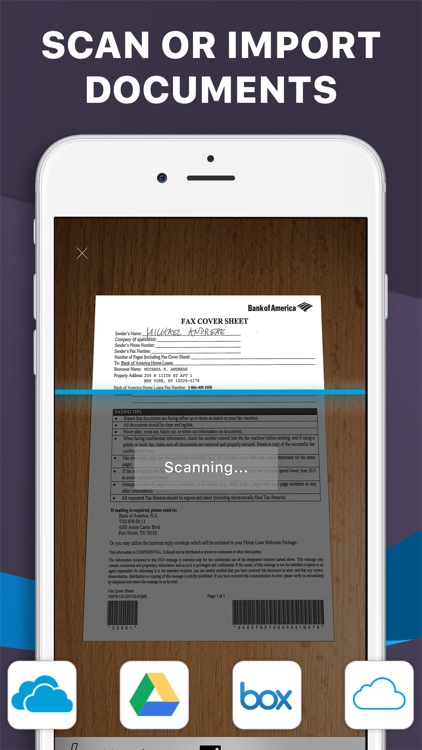 iFax fax app: Fax from iPhone screenshot-3
