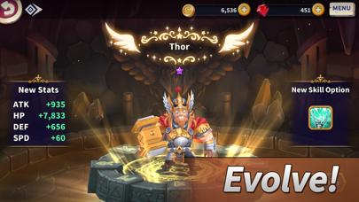 WITH HEROES - IDLE RPG screenshot 2