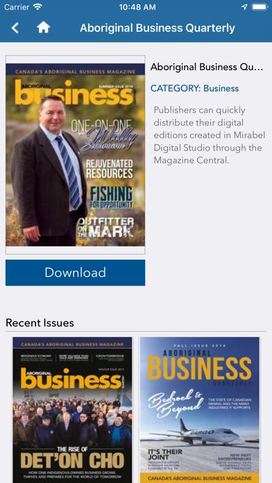 Aboriginal Business Quarterly screenshot two