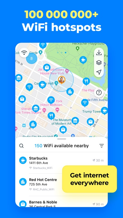 WiFi Map: Find Internet & VPN screenshot-3