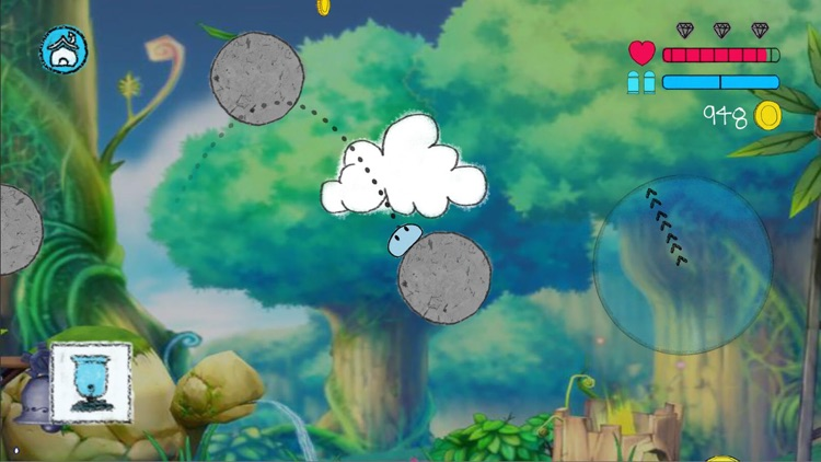 Jumping Slime 2D Platform Game screenshot-4