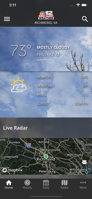 NBC12 First Alert Weather on the App Store
