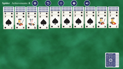 Spider Solitaires Card screenshot 3