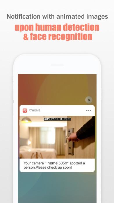 AtHome Camera Pro Security Appのスクリーンショット4